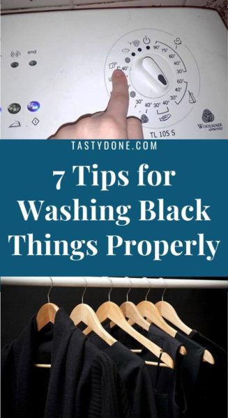 7 Tips for Washing Black Things Properly