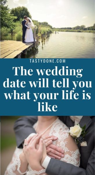 The wedding date will tell you what your life is like