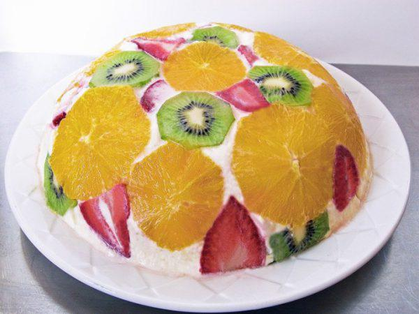 Fruit cake without baking - very simple and delicious!