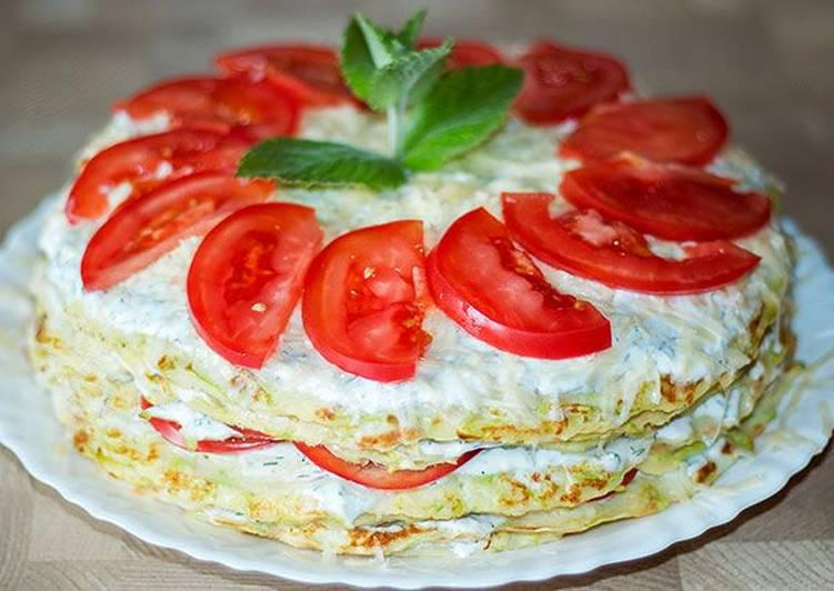 You didn't make a cake from zucchini yet? This is delicious!