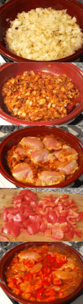 The recipe from Hungary - Juicy paprikash