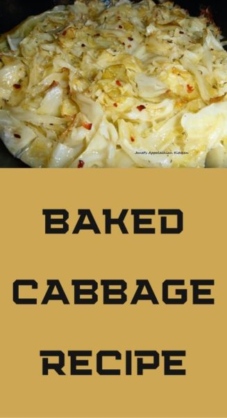 Baked Cabbage recipe
