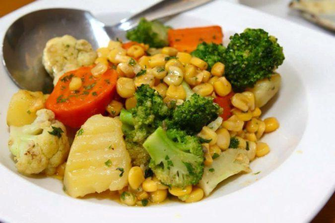 Buttered Vegetables - simple and healthy dish