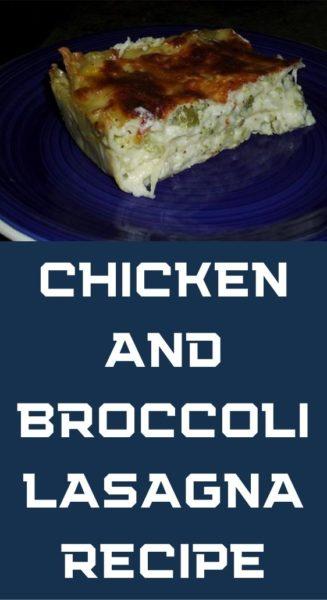 Chicken and Broccoli Lasagna Recipe
