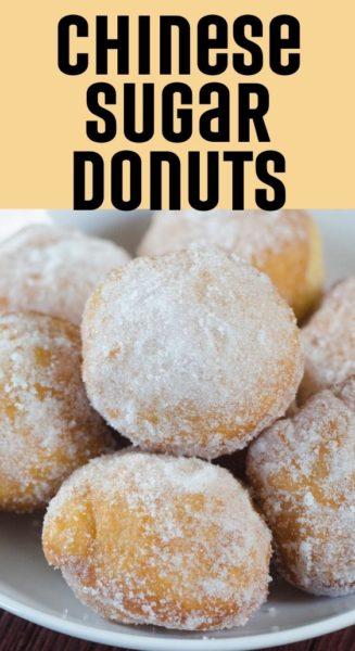 Chinese Sugar Donuts