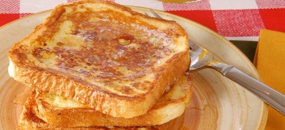 Delicious and custardy French Toast