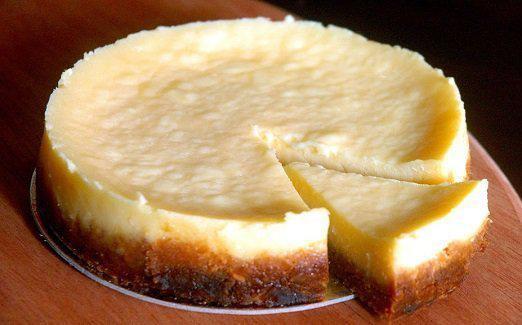 Flavorful no-bake cheesecake