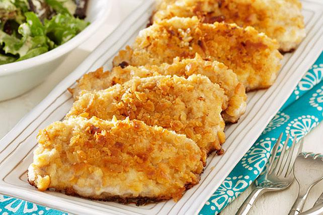 Golden and crispy Breaded Pork