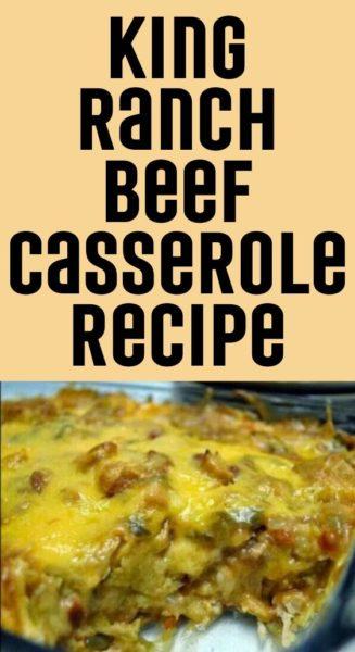 King Ranch Beef Casserole Recipe