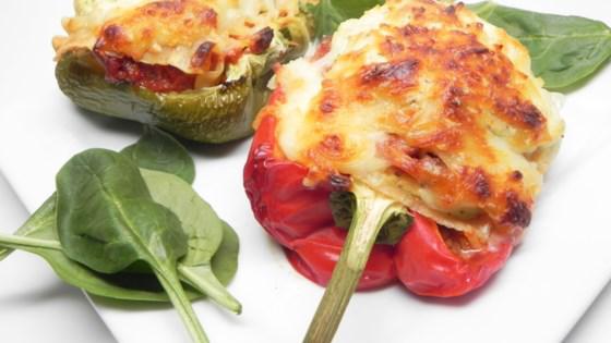 Lasagna-Stuffed Peppers