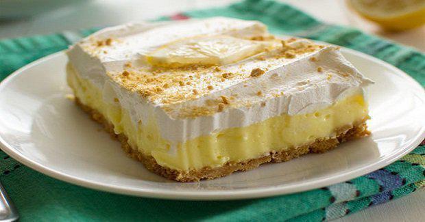 Perfect Lemon Cheesecake Pudding