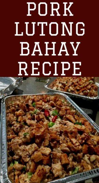 Pork Lutong Bahay Recipe