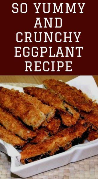 So yummy and crunchy Eggplant Recipe