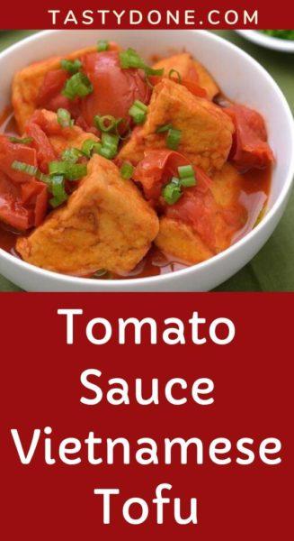 Tomato Sauce Vietnamese Tofu