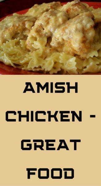 Amish Chicken - great food