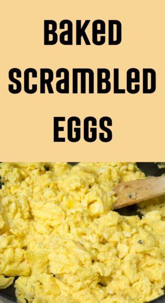 Baked Scrambled Eggs