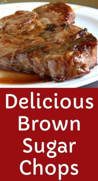 Delicious Brown Sugar Chops