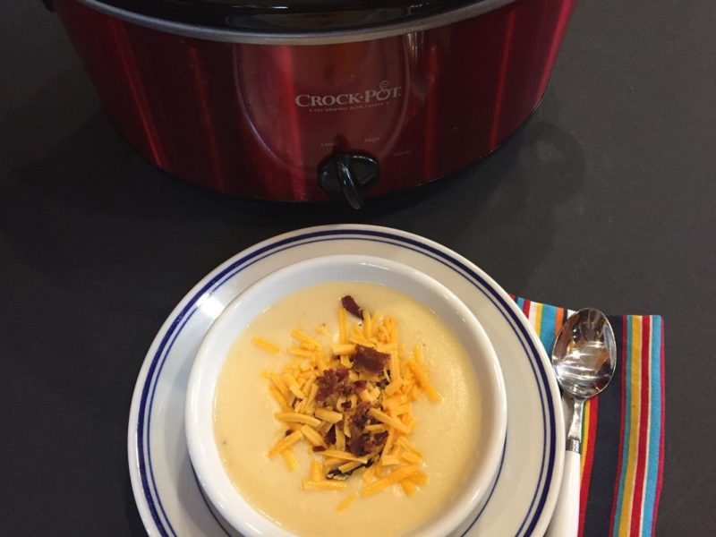 The Best Cheesy Potato Soup Recipe