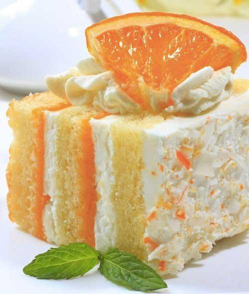 Very beautiful and delicious Orange Creamsicle Cake. I advise everyone to try it!