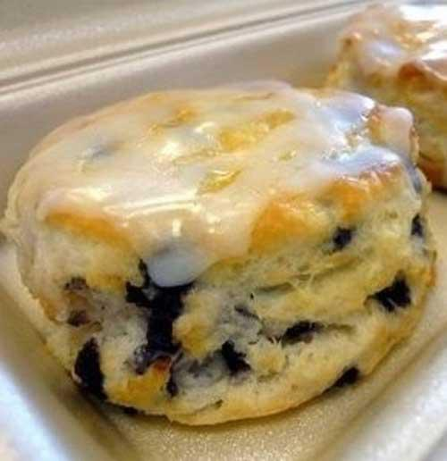 You will love this Glazed Blueberry Biscuits very much. Just try to cook them