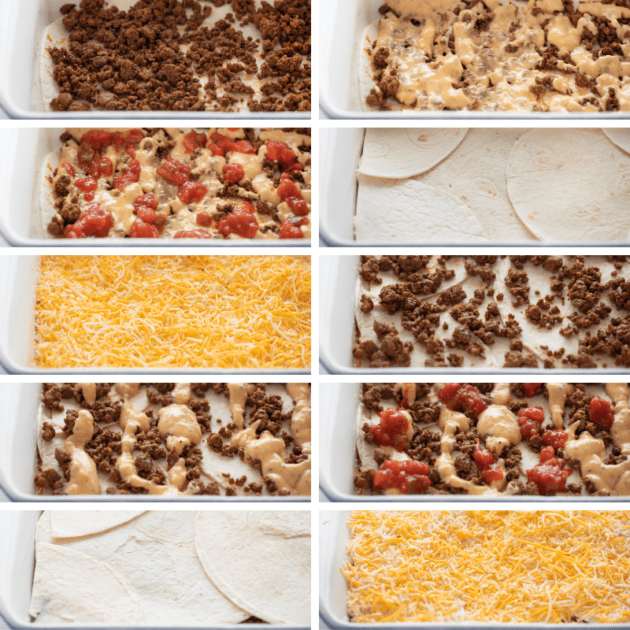 The juiciest and most flavorful TACO LASAGNA