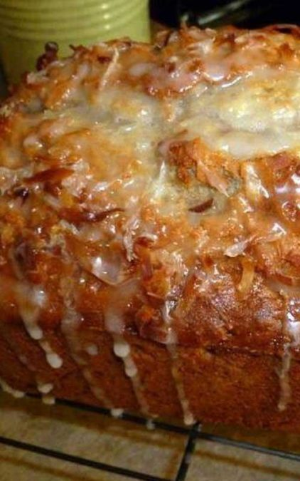 A neighbor treated me with a piece of this Jamaican Banana Bread. I share the recipe with you!