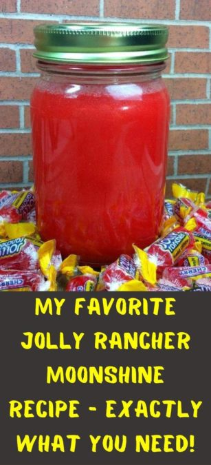 My favorite Jolly Rancher Moonshine Recipe - exactly what you need!