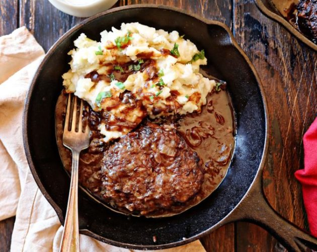 30 minutes Poor Man's Salisbury Steak