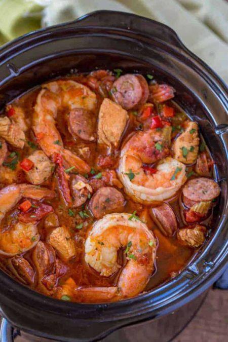 Slow Cooker Jambalaya - Perfect Hearty Dinner