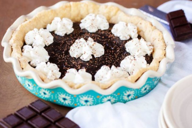 Melting in Mouth Yoder's Amish Chocolate Pie