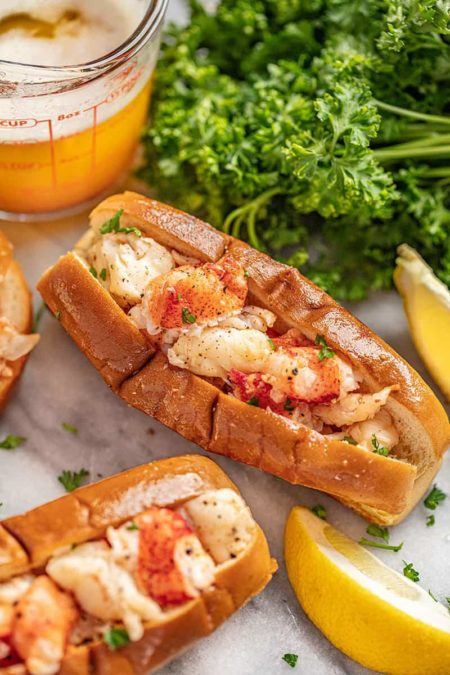 Amazing Brown Butter Lobster Rolls