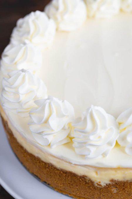 The BEST classic cheesecake recipe