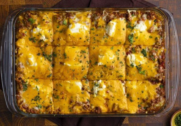 The most easy and delicious lasagna