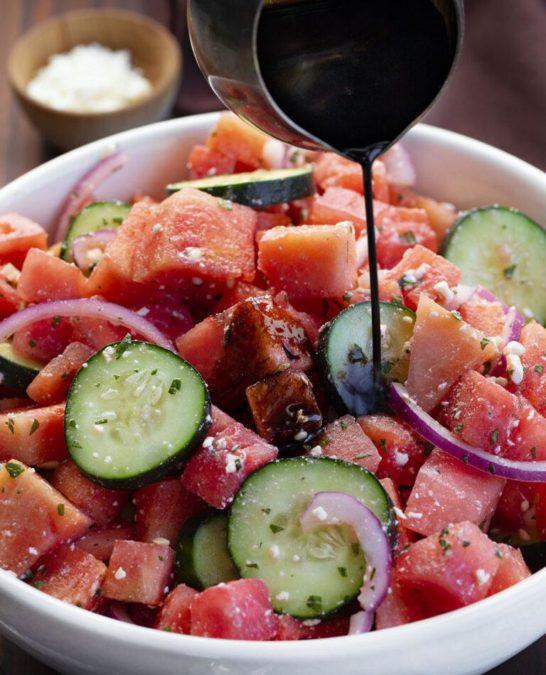 Perfect Summer Watermelon Salad