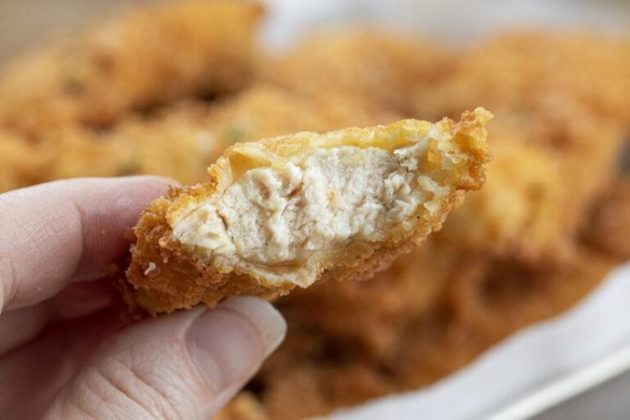 Juicy Inside and Crispy Outside Chicken Tenders