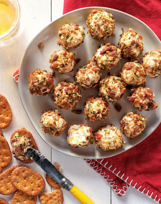 Bacon Ranch Cheese Ball Bites - one of the most fun appetizers to serve!