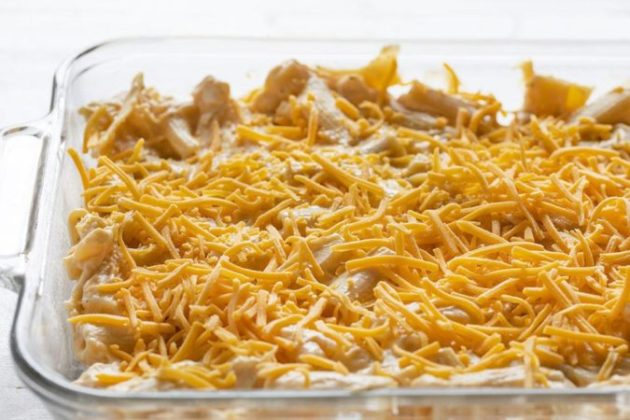 Baked Chicken Rigatoni - the cheesiest baked pasta dishes you will ever have!