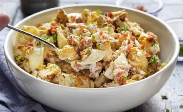 Next Level Roasted Potato Salad