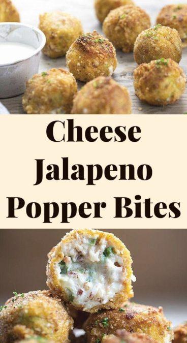 Cheese Jalapeno Popper Bites