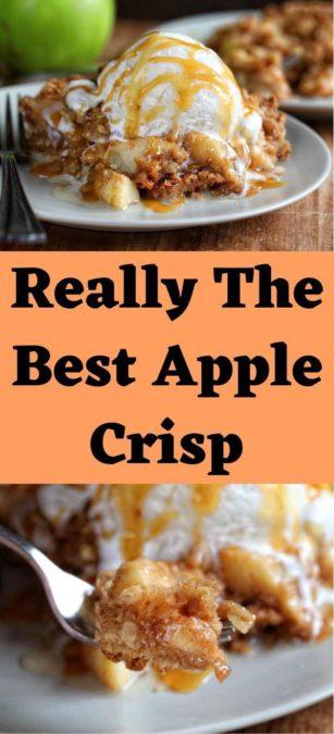Really The Best Apple Crisp