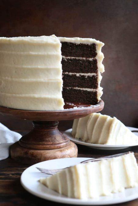 Chocolate Cake With Amazing Maple Buttercream