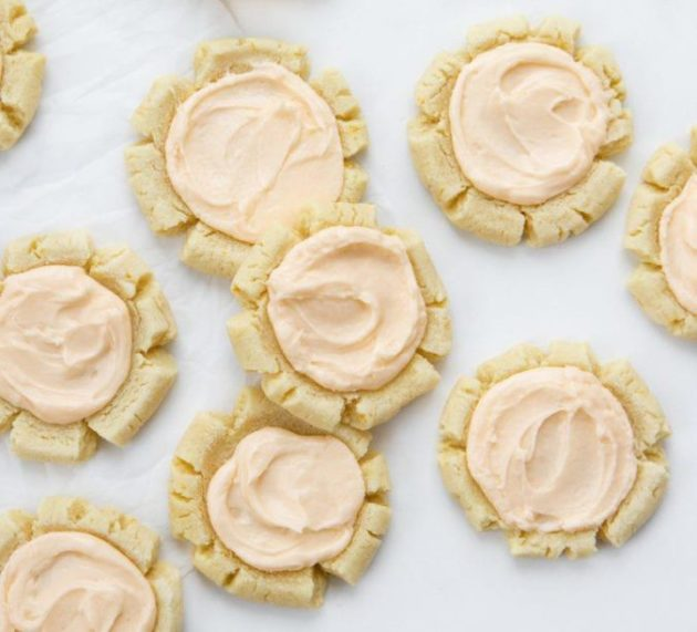 Easy Orange Sugar Cookies Recipe