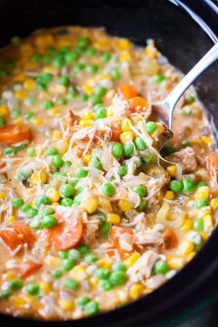 Easy and Flavorful Slow Cooker Chicken Pot Pie