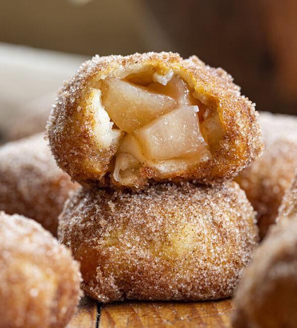 Simple and Delicious Air Fryer Apple Pie Bombs