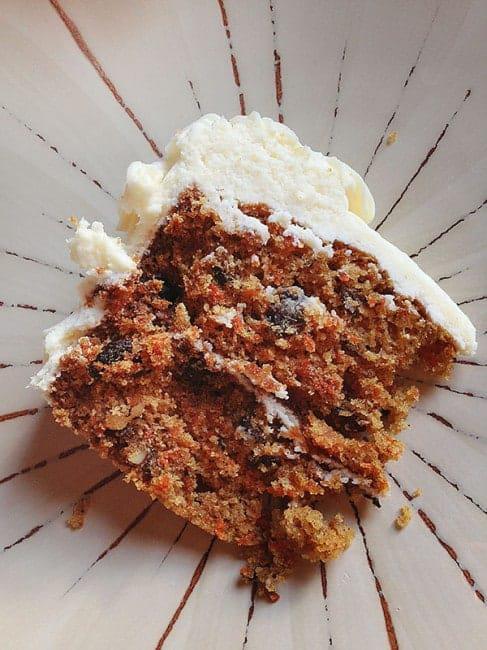 Homemade Cream Cheese Carrot Cake Recipe
