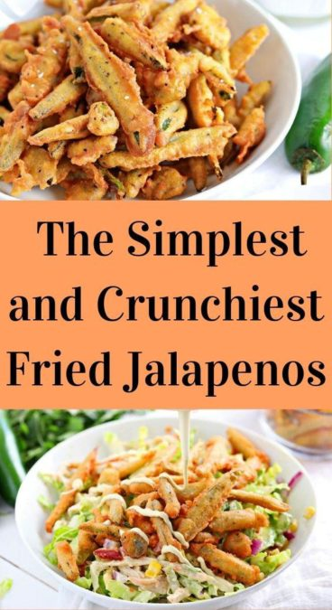 The Simplest and Crunchiest Fried Jalapenos