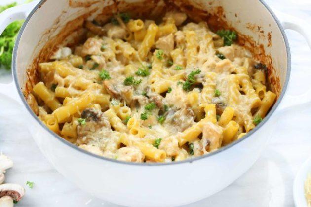 Creamy and Rich Chicken Marsala Casserole