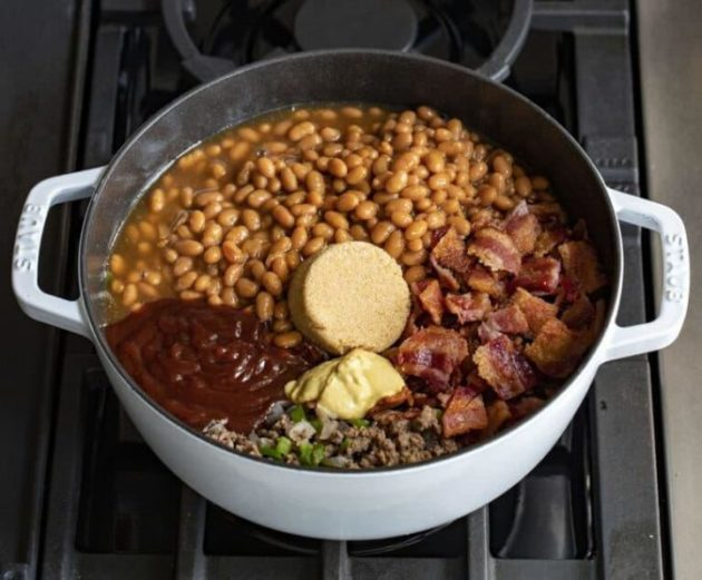 Easy and Delicious Oven Cowboy Beans