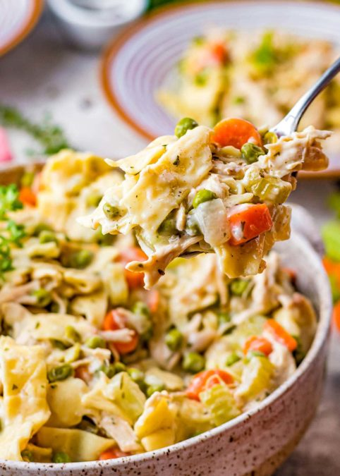Simple Chicken and Noodles Recipe