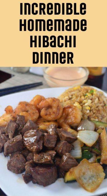 Incredible Homemade Hibachi Dinner